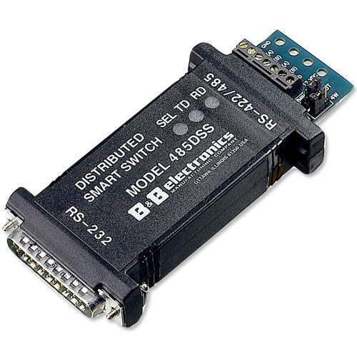 Intelligent/Addressable RS-485 to RS-232 Converter/Switch