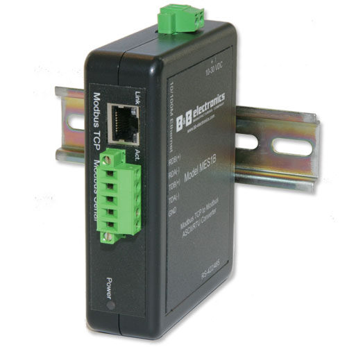Modbus Ethernet Serial Server, connects via RS-422/485