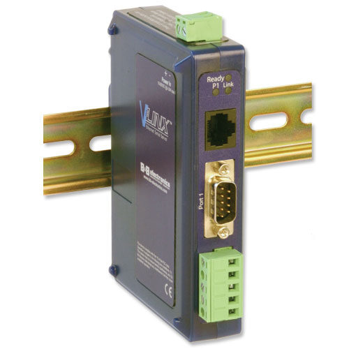 Industrial Modbus Ethernet to Serial Converter with 10/100 Copper Port
