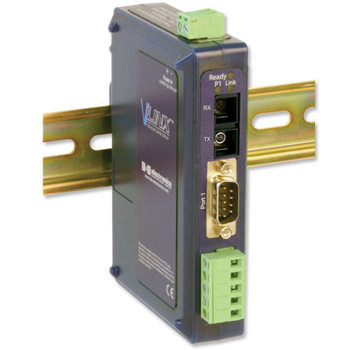 Industrial Modbus Ethernet to Serial Servers with 80km Single-mode Fiber Port