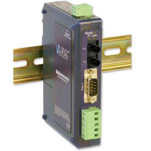 Industrial Modbus Ethernet to Serial Servers with Single-mode Fiber Port