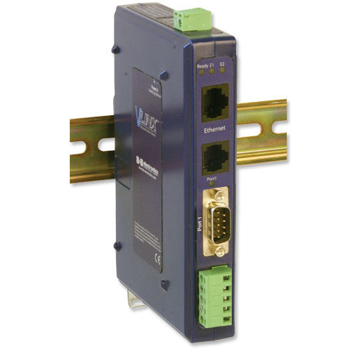 Industrial Modbus Ethernet to Serial Converter with 2 Ethernet Ports