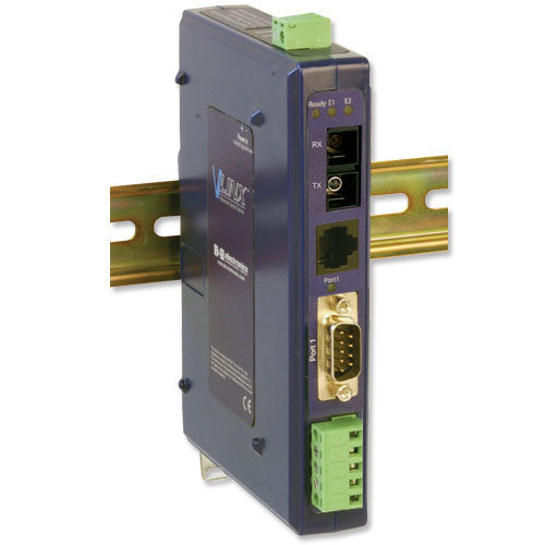 Ethernet Serial Server, 1 DB9 or TB to 1 SC 80 km Single-Mode, 1 RJ45