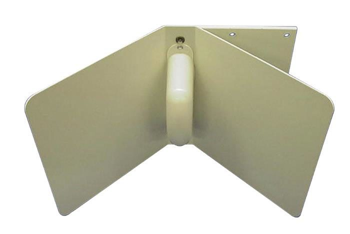 12 dB Directional, Corner Reflector WiFi 2.4. N Jack (Female), attached at rear of antenna
