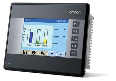 Powerful, colour HMI in a compact format