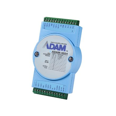4 CHANNEL ANALOG OUTPUT MODULE WITH MODBUS SUPPORT