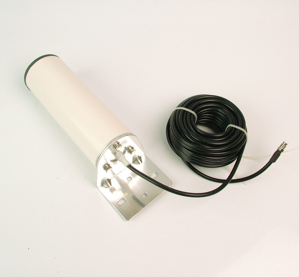 4G/3G/Wifi compact omni antenna, 10M cable and SMA male connector