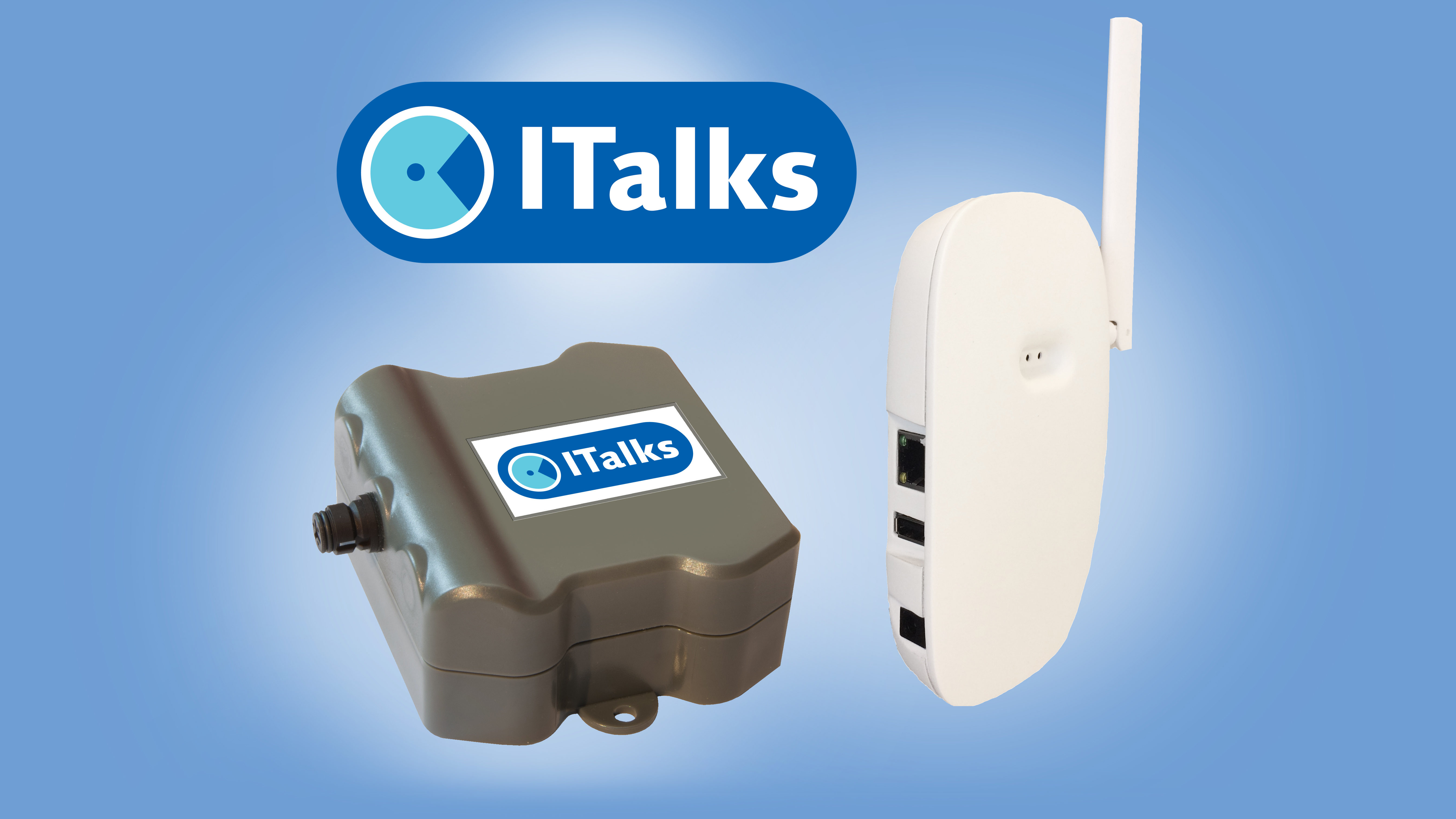 IoT Starterskit Private LoRa inc. indoor Basestation, ITalks ERS Room sensor Full, ITalks LoRaWan connectivity for 1 year