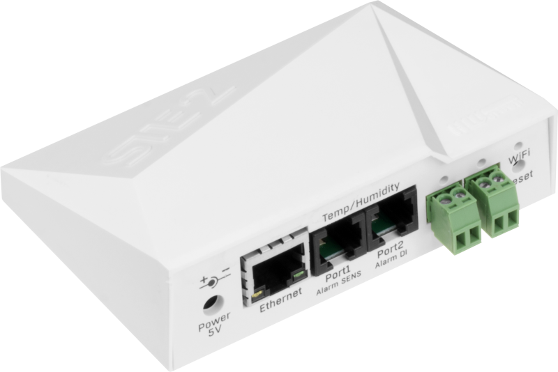 STE2 PoE: STE2 is a temperature/humidity monitoring device with SNMP support